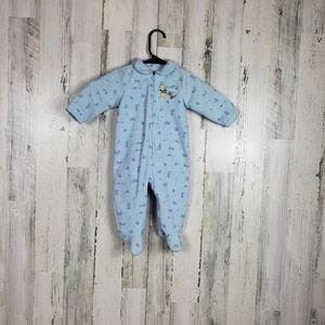 5/$25 Disney baby boys pooh pajamas size 9M